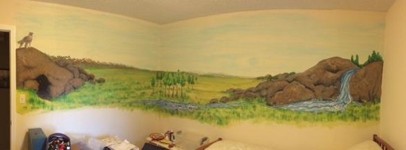 ants mural