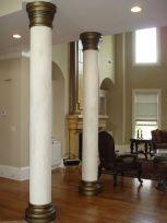 Bronze adds spark to columns